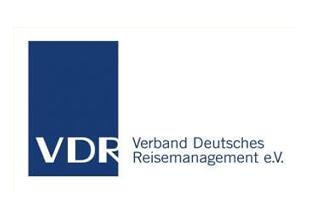 "Logo ""VDR"" (Verband Deutsches Reisemanagement e.V.)"