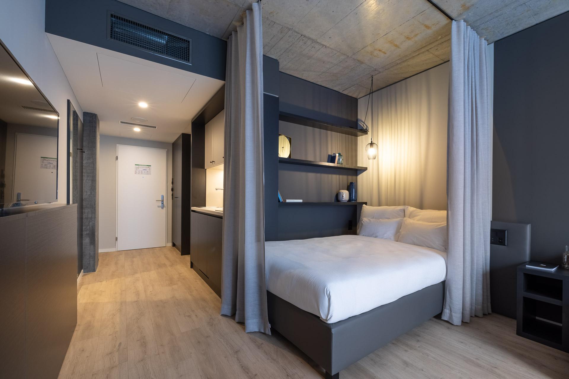 Serviced Apartment in München mit moderner Inneneinrichtung